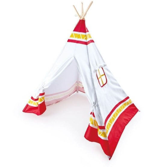 Teepee Tent — Red
