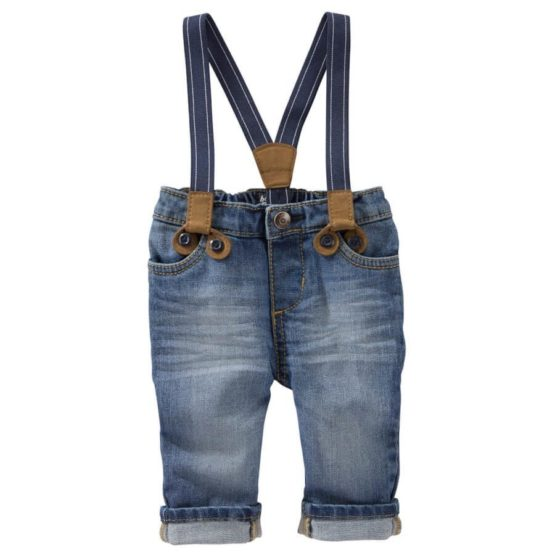 SUSPENDER JEANS — DERBY WASH